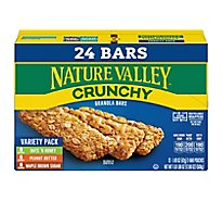Nature Valley Granola Bars Crunchy Variety Pack - 12-1.49 Oz