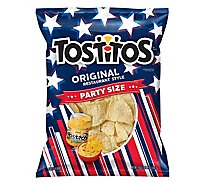 TOSTITOS Tortilla Chips Restaurant Style Original Party Size - 18 Oz