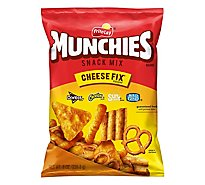 Munchies Snack Mix Cheese Fix Flavored - 8 Oz