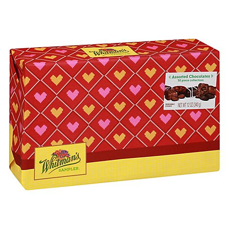 Whitmans Chocolates Sampler Assorted - 12 Oz