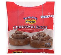 Rhodes Cinnamon Rolls With Cream Cheese Frosting - 36.5 Oz