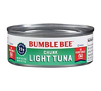 Bumble Bee Tuna Chunk Light in Vegetable Oil - 5 Oz