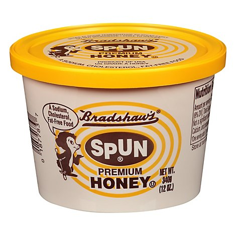 Bradshaws Spun Honey Premium - 12 Oz
