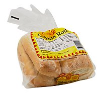Sumanos Bakery Ciabatta Steak Rolls - 16 Oz