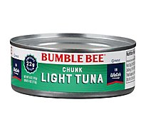 Bumble Bee Tuna Chunk Light in Water - 5 Oz