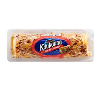 Kaukauna Double Sharp Spreadable Cheese Log 10 oz