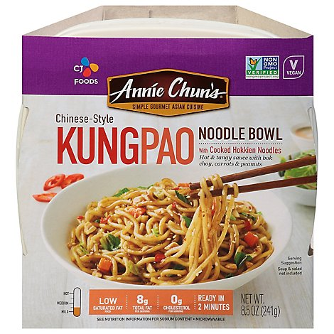 Annie Chuns Noodle Bowl Kung Pao - 9.1 Oz