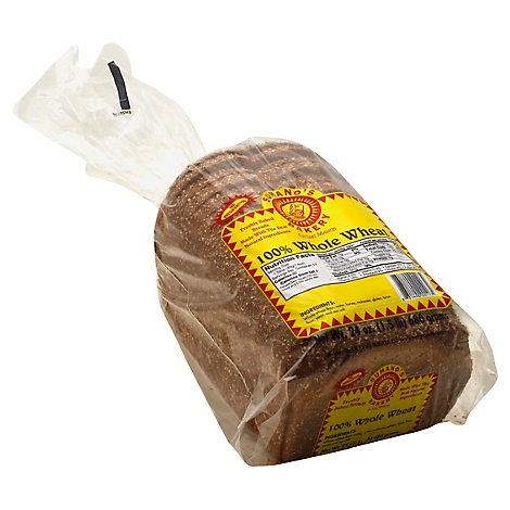 Sumanos Bakery 100% Whole Wheat - 24 Oz