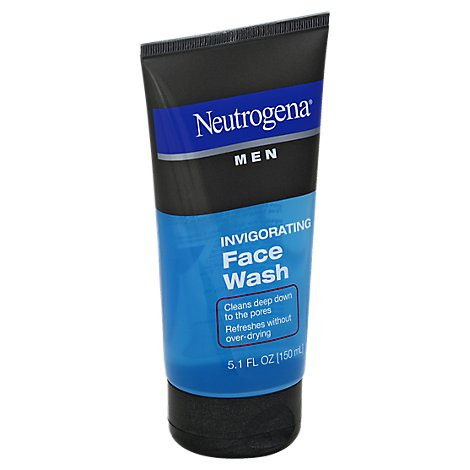 Neutrogena Men Face Wash Invigorating - 5.1 Fl. Oz.