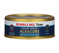 Bumble Bee Prime Fillet Tuna Albacore Solid White Very Low Sodium in Water - 5 Oz