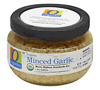 O Organics Organic Garlic Minced - 4.25 Oz