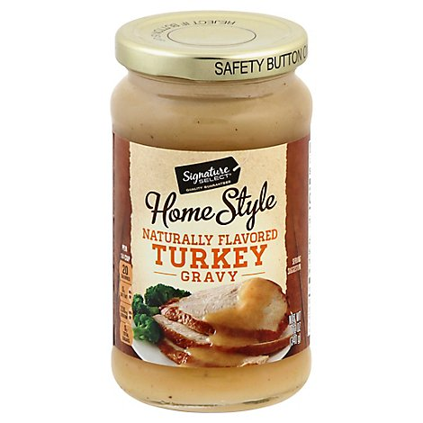 Signature SELECT/Kitchens Gravy Home Style Turkey - 12 Oz