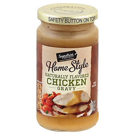 Signature SELECT Gravy Home Style Chicken - 12 Oz