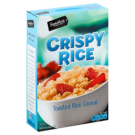 Signature SELECT Cereal Crispy Rice - 12 Oz