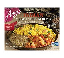 Amys Indian Vegetable Korma - 9.5 Oz