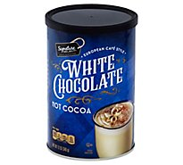 Signature SELECT Cocoa Hot White Chocolate European Cafe Style - 12 Oz