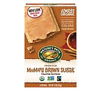 Natures Path Organic Toaster Pastries Frosted Maple Brown Sugar - 11 Oz