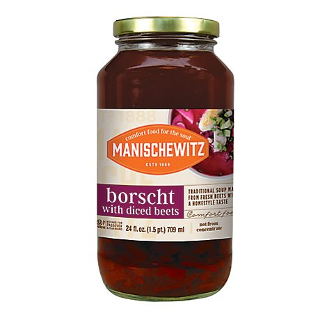 Manischewitz Borscht With Shredded Beets - 24 Fl. Oz.