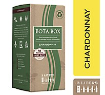 Bota Box Wine Chardonnay California - 3 Liter