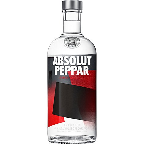 Absolut Vodka Peppar 80 Proof - 750 Ml