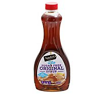 Signature SELECT Syrup Original Sugar Free - 24 Fl. Oz.