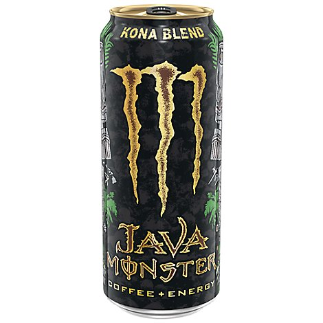 Monster Energy Java Monster Coffee + Energy Drink Kona Blend - 15 Fl. Oz.