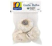 O Organics Organic Garlic Fresh Bulbs - 3 Count