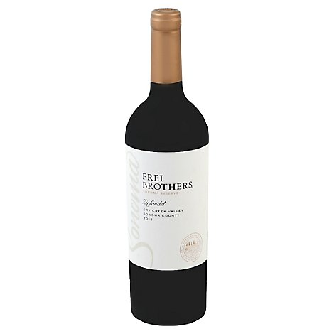 Frei Brothers Reserve Sonoma County Zinfandel Red Wine - 750 Ml