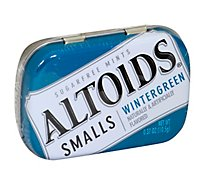 Altoids Smalls Wintergreen Sugarfree Mints Single Pack 0.37 Oz