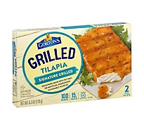 Gortons Fish Fillets Grilled Tilapia Signature Grilled 2 Count - 6.3 Oz