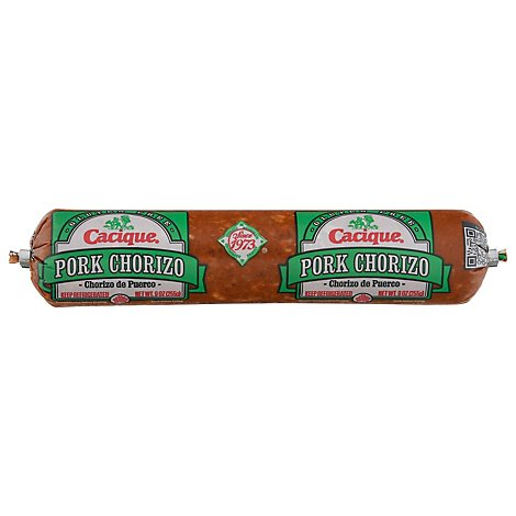Cacique Pork Chub Chorizo - 10 Oz