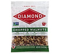 Diamond of California Walnuts Chopped - 2.25 Oz