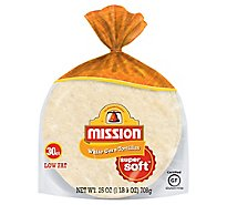 Mission Tortillas Corn White Super Soft Bag 30 Count - 25 Oz