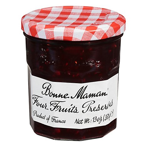 Bonne Maman Preserves Four Fruits - 13 Oz