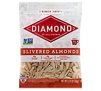 Diamond of California Almonds Slivered - 2.25 Oz