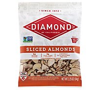 Diamond of California Almonds Sliced - 2.25 Oz