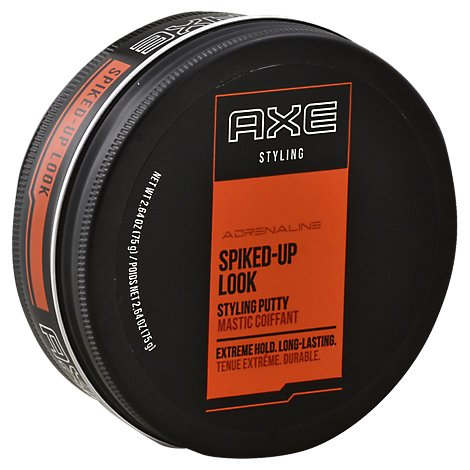AXE Styling Hair Putty Spiked-Up Look Adrenaline - 2.64 Oz