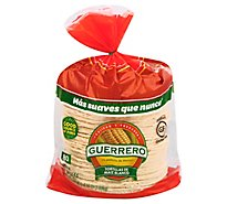 Guerrero Tortillas Corn White Maiz Blanco Bag 80 Count - 73.2 Oz