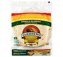Guerrero Tortillas Flour Soft Taco De Harina Riquisimas Bag 10 Count - 14.5 Oz