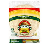 Guerrero Tortillas Flour Burrito De Harina Riquisimas Bag 8 Count - 18.6 Oz