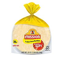 Mission Tortillas Corn Yellow 30 Count - 27.5 Oz