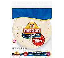 Mission Tortillas Flour Burrito Large Super Soft Bag 16 Count - 40 Oz