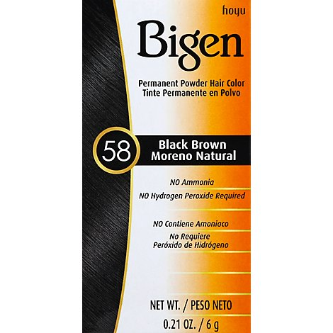 Bigen Black Brown Hair Color - 0.21
