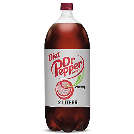 Diet Dr Pepper Cherry Soda 2 L bottle