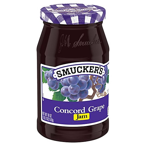 Smuckers Jam Concord Grape - 18 Oz