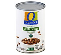 O Organics Organic Beans Chili In Sauces - 15 Oz