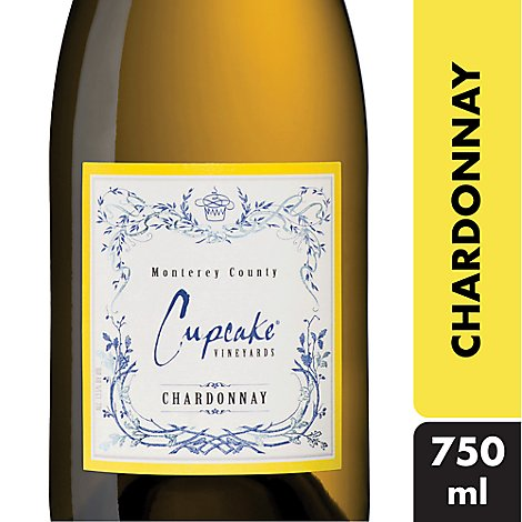 Cupcake Vineyards Wine White Chardonnay - 750 Ml