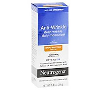 Neutrogena Ageless Intensives Deep Wrinkle Moisture SPF 20 - 1.4 Oz