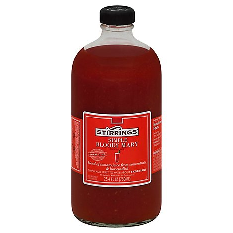 Stirrings Cocktail Mix Simple Bloody Mary - 750 Ml