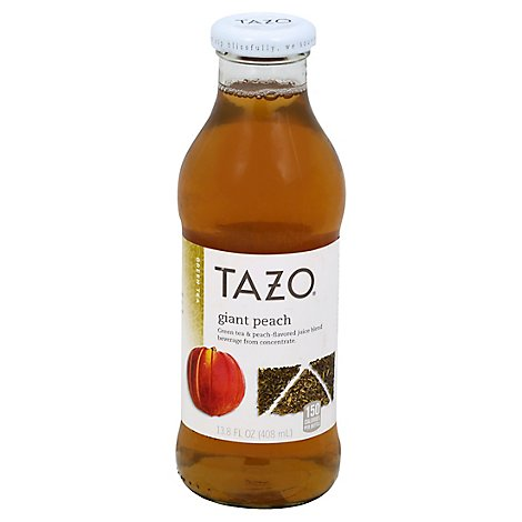 TAZO Green Tea Giant Peach - 13.8 Fl. Oz.